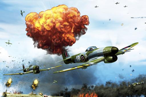 連合軍の空の海賊 - 無料飛行機競馬戦争ゲーム
