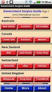 Government Surplus Guide- screenshot thumbnail