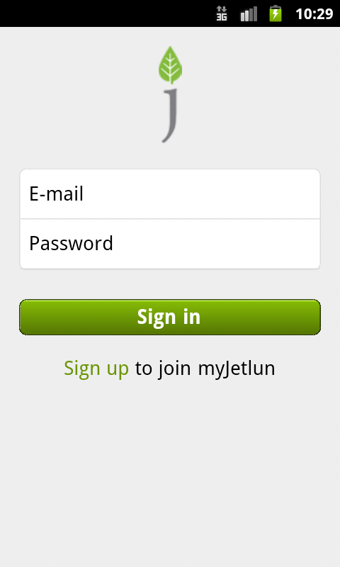 myJetlun mobile- screenshot