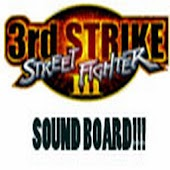 Street Fighter 3 Sound Board