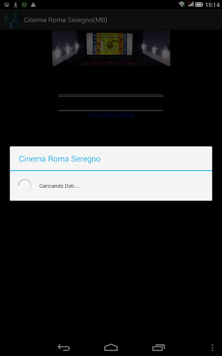 Cinema Roma Seregno MB Tablet