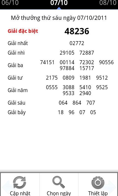 Xổ số miền Bắc - Live xo so- screenshot