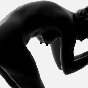 Silhouette Nude by Vineet Johri - Nudes & Boudoir Artistic Nude ( vkumar, art nude, elle black, deadlock hairs, london, learn art nude photography )