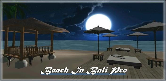 Beach In Bali 3D PRO LiveWallp apk