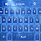 GO Keyboard Blue Stars 3.1 Apk