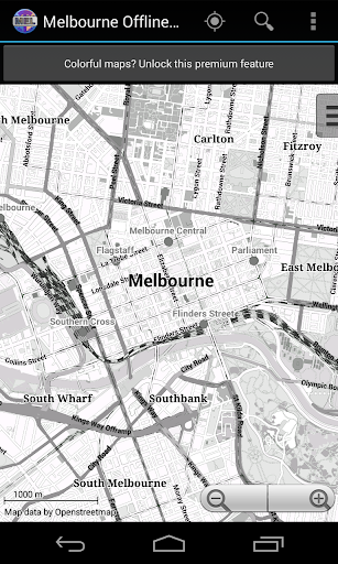 Melbourne City Map Lite