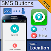 SMS Button Messenger - OK,HELP