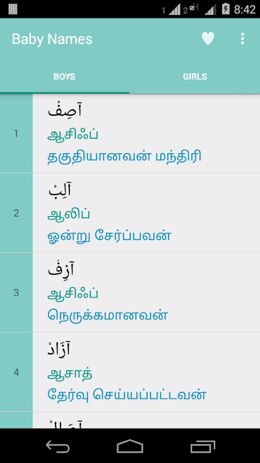 tamil boy baby names pdf