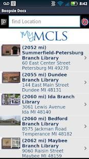 Monroe County Library System- screenshot thumbnail