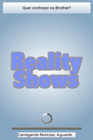 Reality Shows - Atualizadas