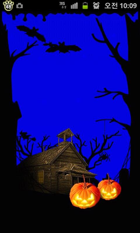 toss halloween live wallpaper android apps on google play