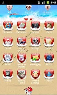 Go Launcher Love Theme 個人化 App-愛順發玩APP
