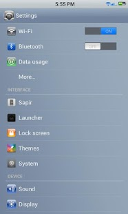 Icephone Demo Cm10/10.1 Theme- screenshot thumbnail