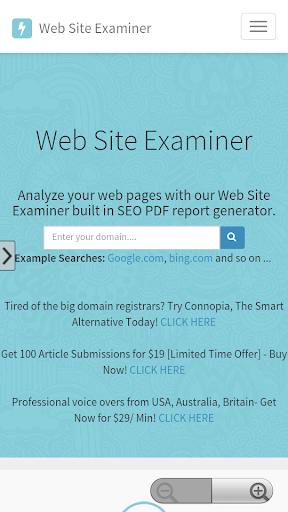 Site Examiner