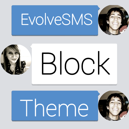 Evolve SMS Theme - BH Block 個人化 App LOGO-APP試玩