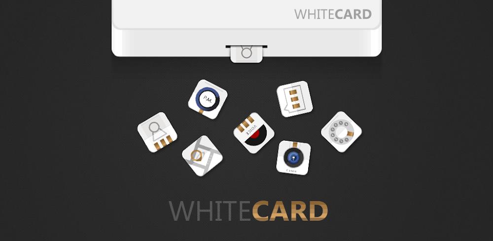 WHITECARD GO Launcher Theme