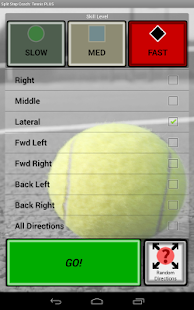 Sports Split Step Tennis Plus - screenshot thumbnail