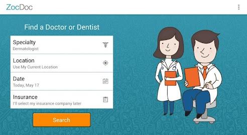 ZocDoc - Book a Doctor Online! Screenshot 4