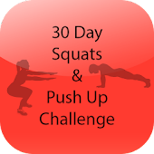 30 Day Squats Pushup Challenge