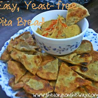 Unleavened Pita Bread.