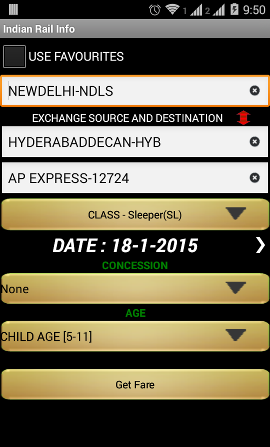 Indian Rail - screenshot