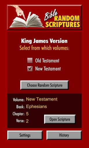 Random Bible Scriptures
