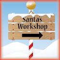 Santas Workshop Live Wallpaper logo