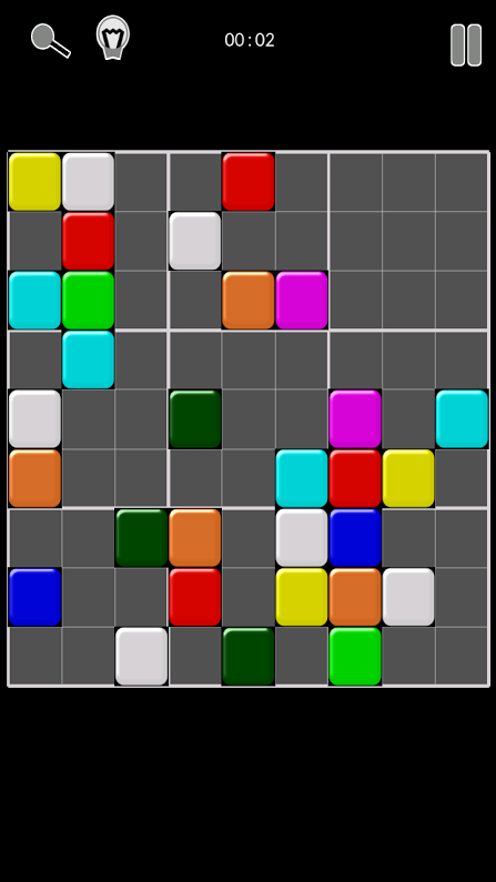 Colordu Color Sudoku - screenshot
