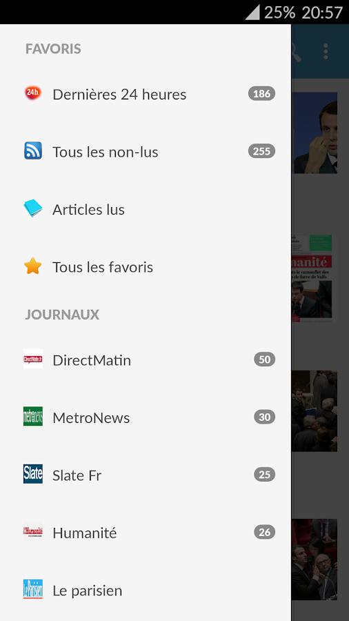 France Presse - screenshot