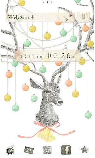 Christmas Reindeer Wallpaper 1.0.1 Windows u7528 1