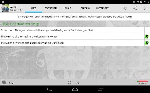 Auto - Führerschein, Klasse B - screenshot thumbnail
