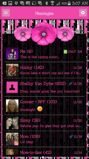 GO SMS THEME - SCS417