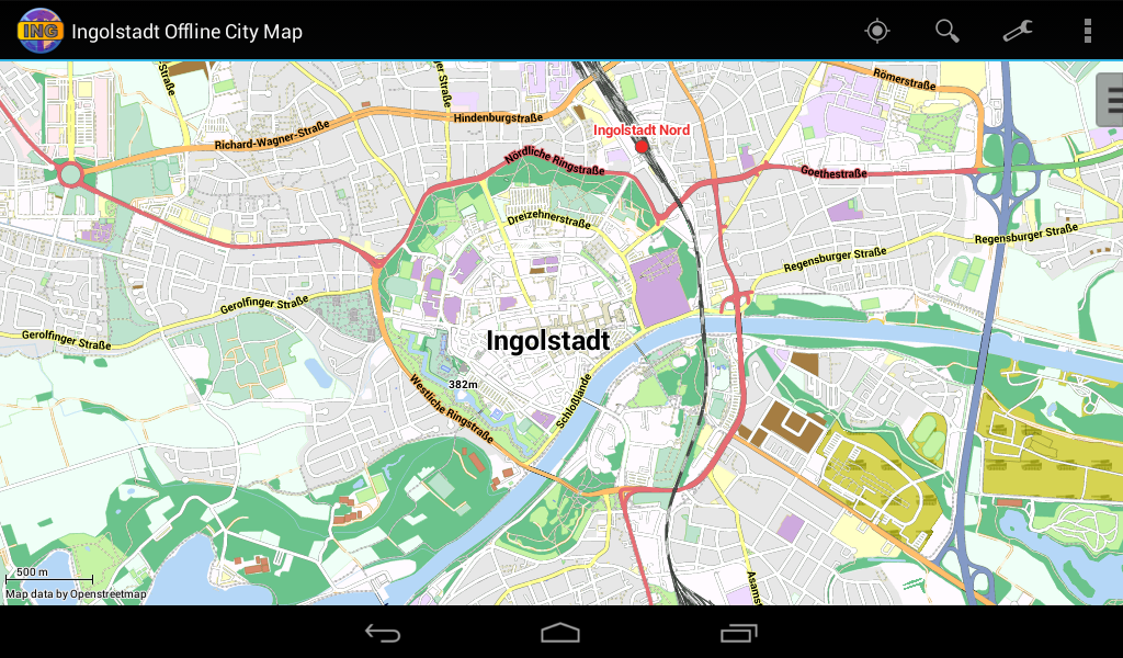 Ingolstadt Offline City Map Android Apps On Google Play