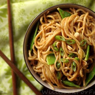Spicy Peanut Soba Noodles.