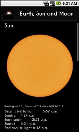 Earth Sun and Moon Lite
