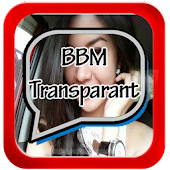 Transparent bbm for android