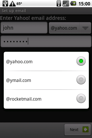 ROID mail (no ads) - screenshot