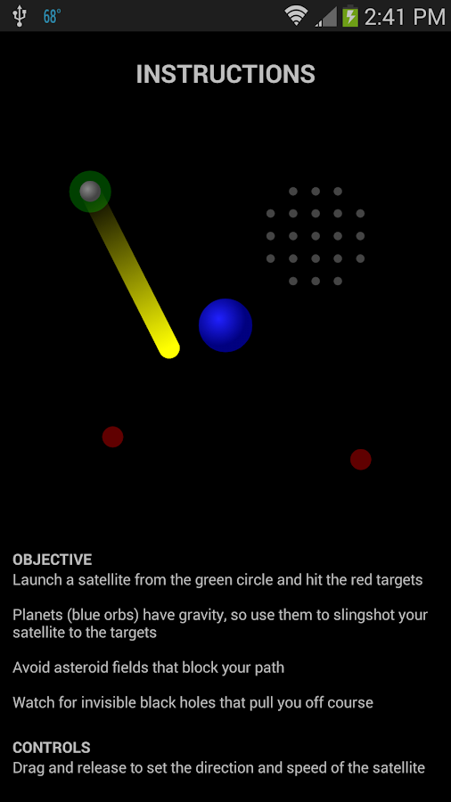 Gravitate - screenshot
