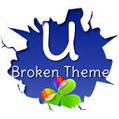 GO Launcher EX Broken Theme