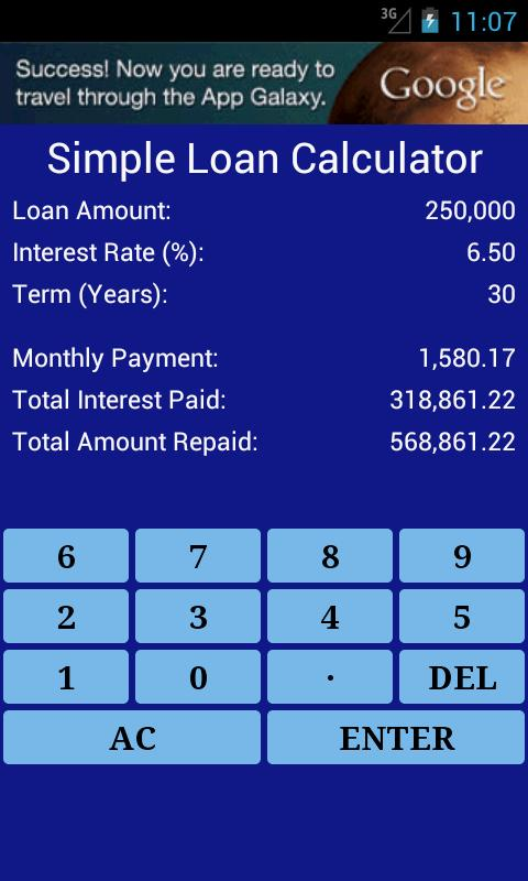Standard Calculator- screenshot