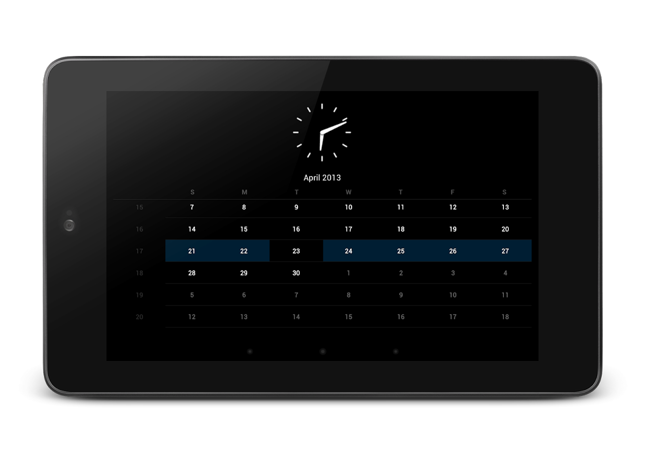 Cal-Clock- screenshot