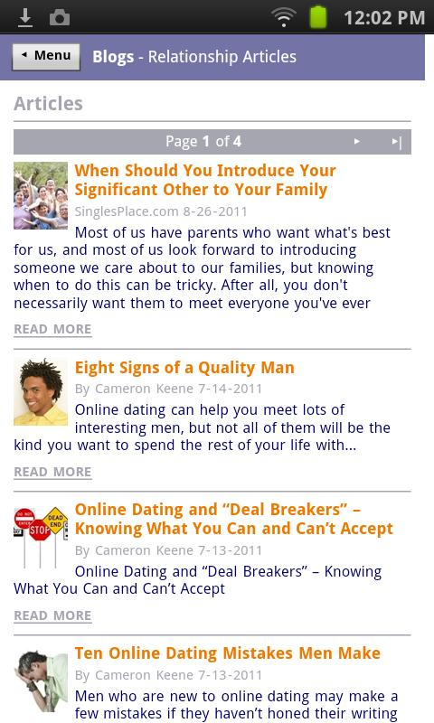 TangoWire Dating Communities - screenshot