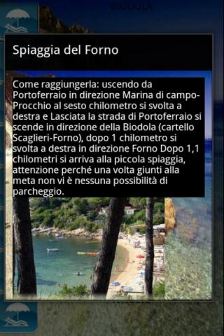 Elba Spiagge versione demo - screenshot