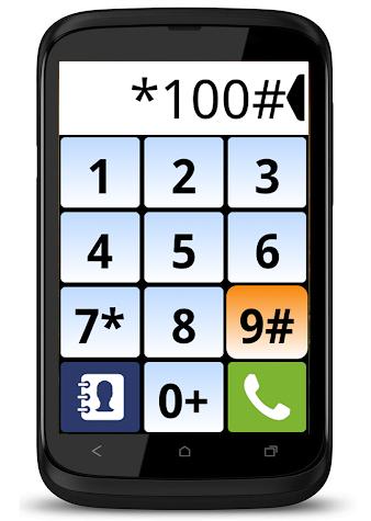 Big Dialer - big buttons Screenshot