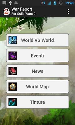 War Reports for Guild Wars 2 - screenshot