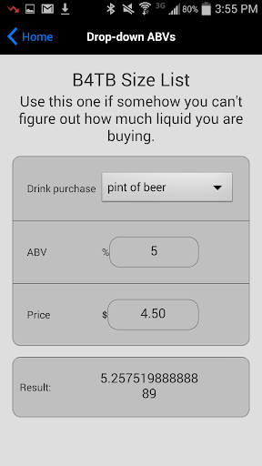Beer for the Buck