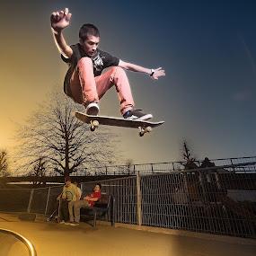 | flying boy | by Photo Jovan - Sports & Fitness Skateboarding ( skateboarding, skate, skater, skateboardramp, skateboard,  )