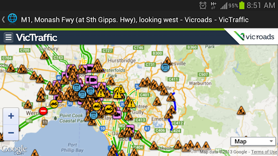 Melbourne & Victoria Alert- screenshot thumbnail