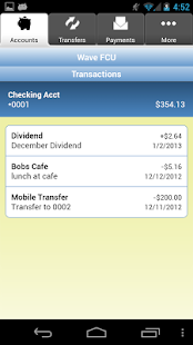 Wave Federal Credit Union- screenshot thumbnail