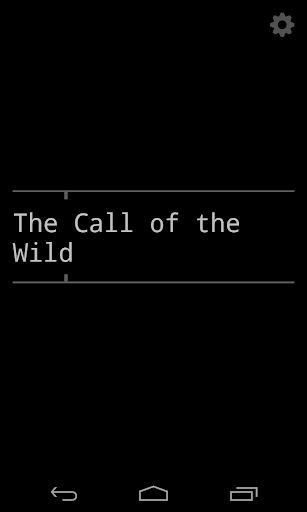 The Call of the Wild - 3 hours